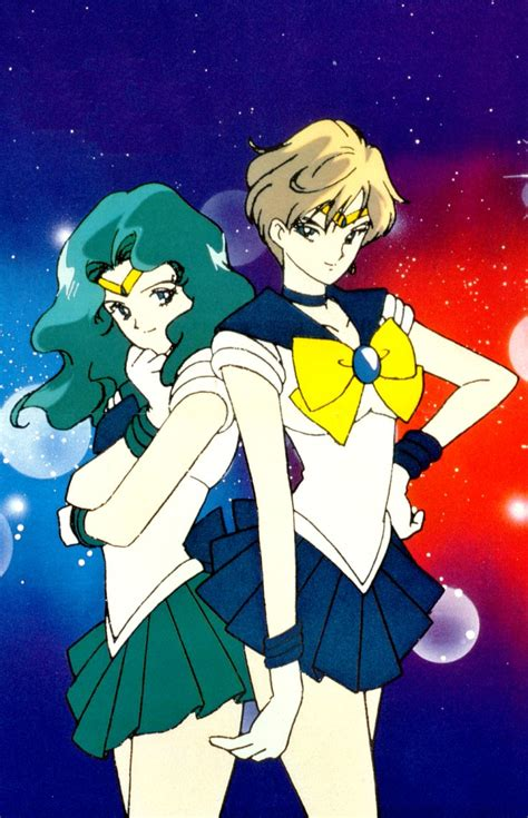 sailor neptune sailor neptune and uranus www pixshark images