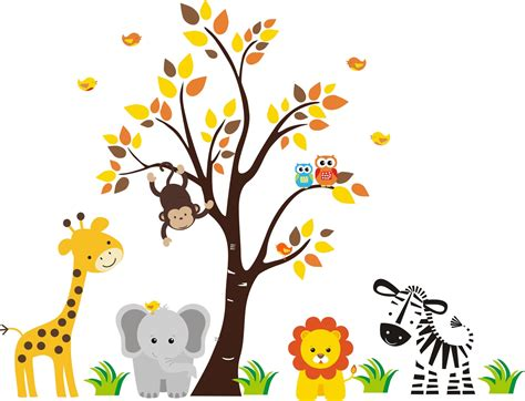 printable animal art free printable baby jungle animal clipart clipartxtras
