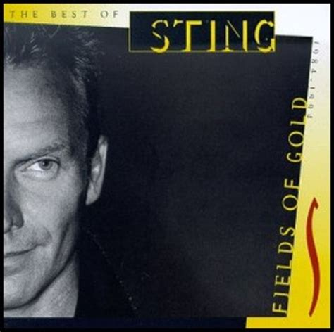 sting fields of gold best of album fields of gold the best of sting 1984 1994 de sting