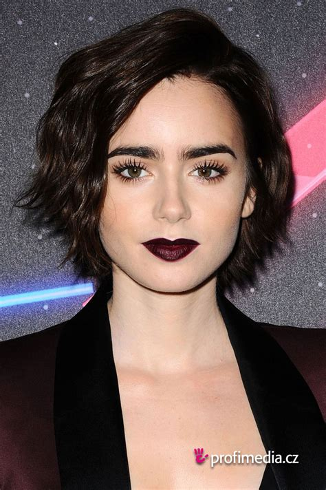 lizly hairstile lily collins hairstyle easyhairstyler