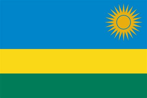 flags of the world yellow sun national flag of rwanda from http www flagsinformation