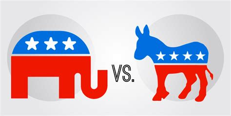 democratic symbol and color us democratic and republican logo designs think design