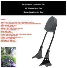 Victory Motorrad Sissybar by Victory Motorcycle Custom Sissy Bar Backrest Kit Vegas