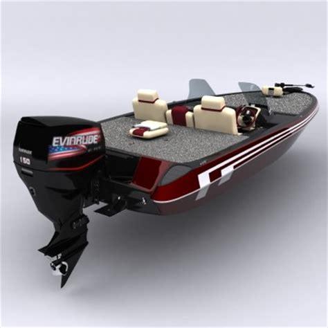 bass boat models bass boat 3d model max obj 3ds fbx cgtrader