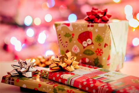free stock photo of christmas gifts presents