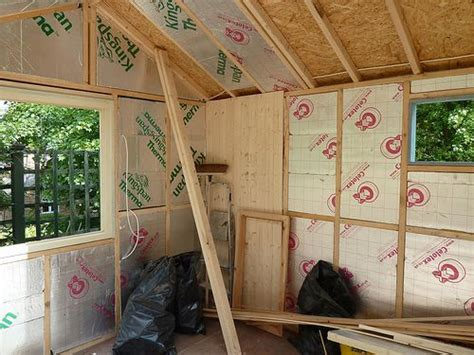 17 best ideas about insulated shed on