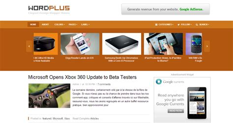 premium html themes download 5 premium blogger templates for download free technology