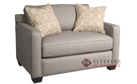 Sofa Bed Loveseat Size Customize And Personalize Parker Twin Fabric Sofa By