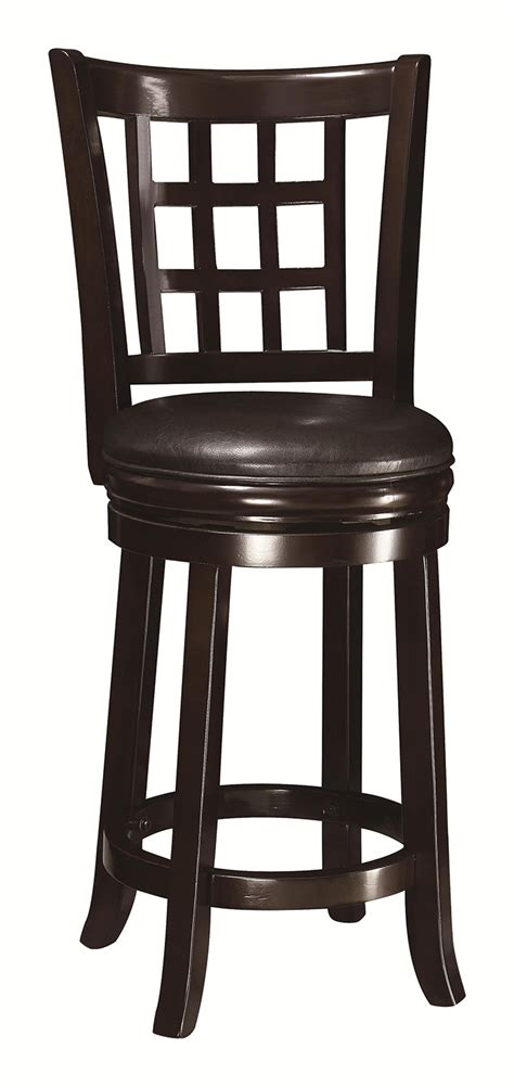 Bar Stools Bar Stools 24 Inches High 24 Inch Bar Stools On Sale | coaster 24 inch wooden bar stool espresso 102649 at