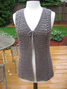 pattern crochet vest womens ladies crochet patterns crochet and knit