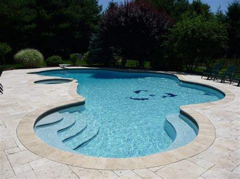 Professional Custom Inground Pool Design Free Form Shape Inground Swimming Pool Designs