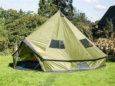 Backyard Teepee Tent by Skandika Molde10 Person Teepee Tent Sewn In