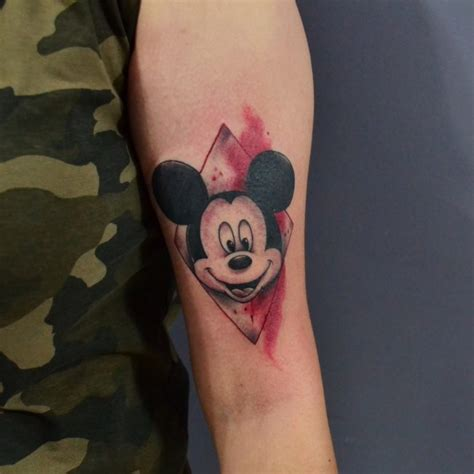 minnie and mickey tattoos 65 classic mickey and minnie mouse ideas