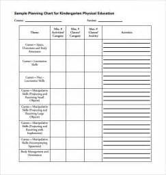 template physical sle physical education lesson plan 14 exles format