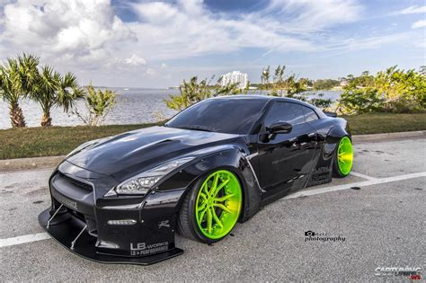subaru liberty walk nissan gt r r35 liberty walk