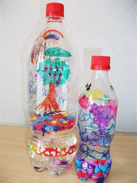 Preschool Crafts For Water Bottle Shaker Craft