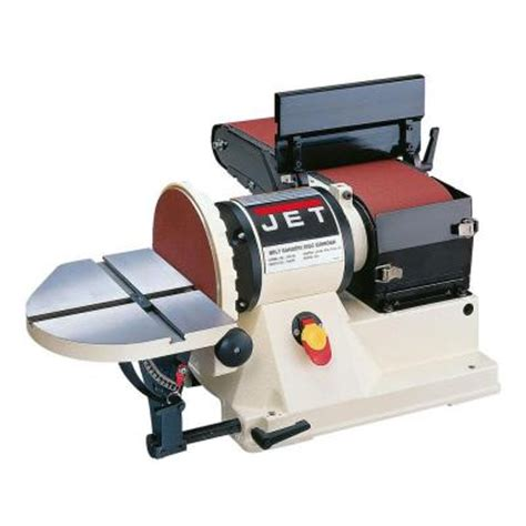 bench top belt sander jet 9 2 amp bench top belt and disc sander 708595 the