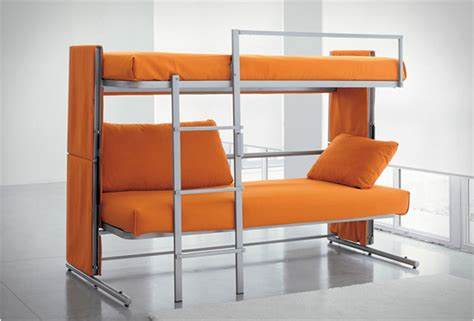 Sofa Bunk Bed Converts Into Bunk Bed