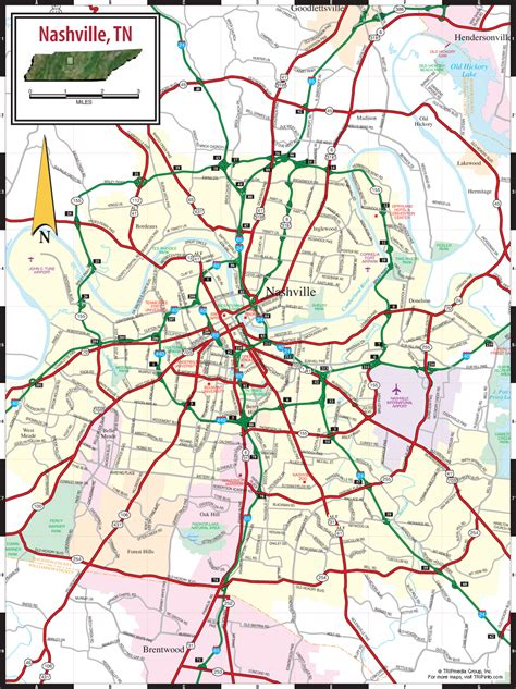 map nashville tn maps update 21051488 tourist attractions map in