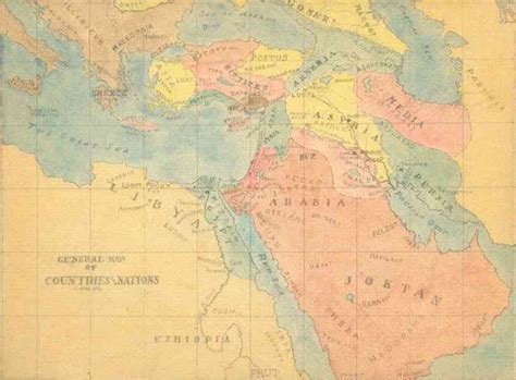 middle east map ancient ancient middle eastern map map travel