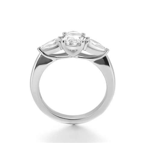 trilogy engagement ring haywards bespoke jewellery