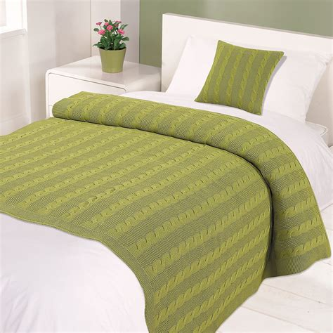 is fleece knit or woven highams 100 cotton woven cable knitted warm bed blanket