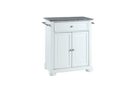 crosley alexandria solid granite top portable kitchen alexandria solid granite top portable kitchen island in