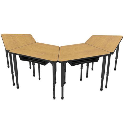 Marco Group Classroom Set 8 Apex Trapezoid Student Desks Student Classroom Desks