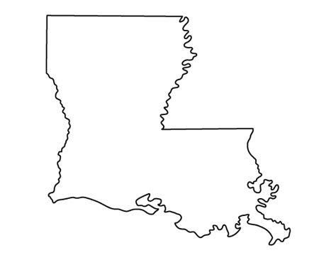 pattern maker louisiana louisiana pattern use the printable outline for crafts