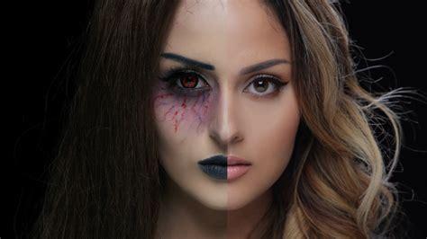 Lipstik Vire horror makeup tutorial you mugeek vidalondon