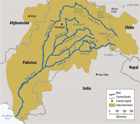 ancient middle east map river eaglespeak india and pakistan water war may go nuclear