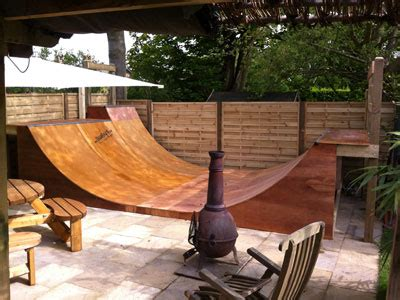 backyard half pipe skateboard and scooter rs half pipes quater pipes