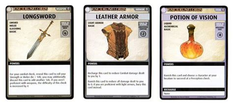 rpg item card template pathfinder adventure card rise of the runelords