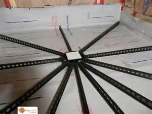 shower tile base kit pitch pre made shower slope standard kit