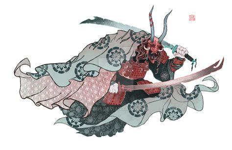 oni samurai by uzi91 on deviantart