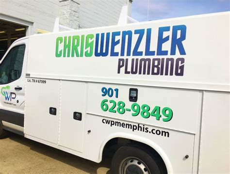 Mid South Plumbing by Fleet Services Vehicle Repair Maintenance Graphics