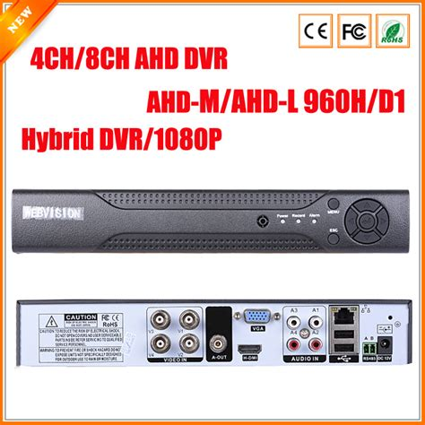 Dvr 4 Ch Ahd 2 Mp 1080p Hybrid Made In Taiwan Murah aliexpress buy ahdm dvr 4channel 8channel ahdnh cctv ahd dvr hybrid dvr 1080p nvr 4in1