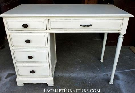 distressed wood computer desk desks vanities painted glazed distressed painted