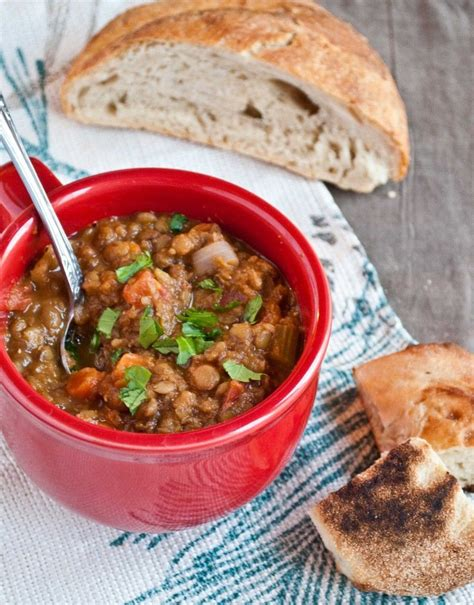vegan gluten free lentil soup recipe 123245 foodgeeks