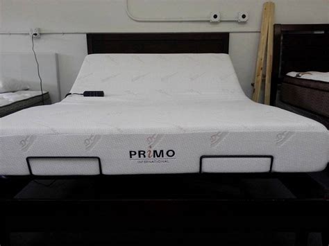 Size Bed With Mattress Included by Primo Adjustable Beds Memory Foam Mattress Adjustable