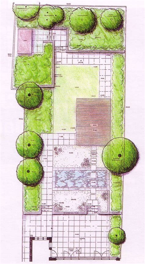 garden layout plan 25 best ideas about landscape design plans on