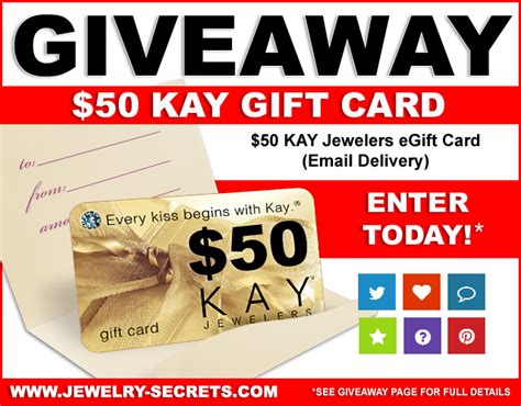 Kay Jewelers Gift Card - enter to win a 50 kay jewelers gift card ends 06 12 2016 blog giveaway directory