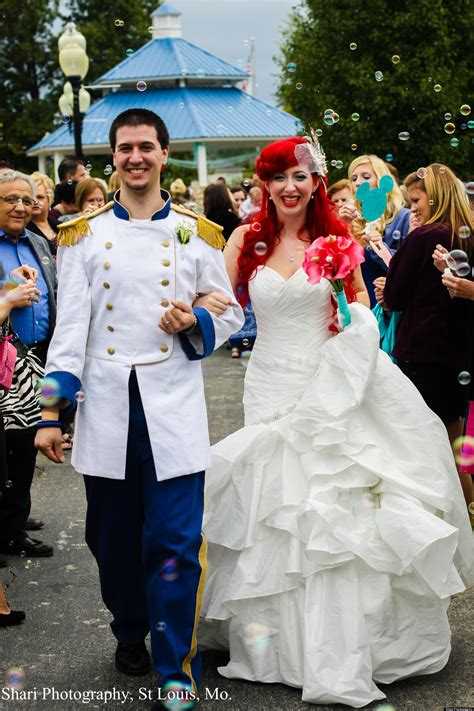 disney wedding and christopher chandler throw the top disney themed wedding photos
