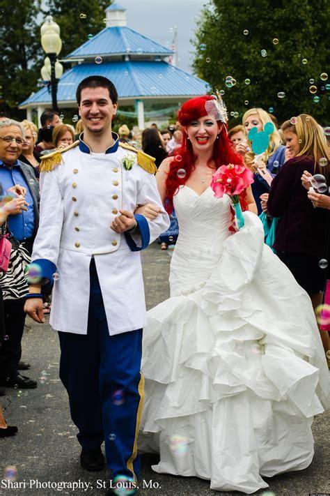 Disney Wedding: Jamie and Christopher Chandler Throw Over