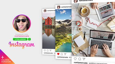fast instagram promo corporate after effects templates