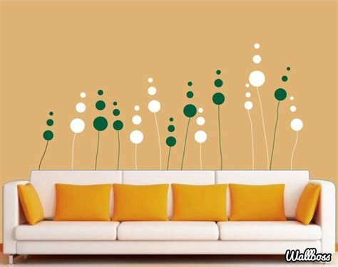 abstract wall stickers abstract flower by wallboss wallboss wall stickers wall stickers uk wall stickers