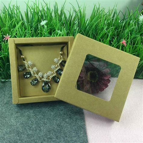 high archives black kraft jewelry packing bracelet high quality diy jewely display necklace box jewelry set