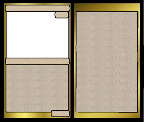 Battle Card Template By Ashwolf Forever On Deviantart Battle Card Template
