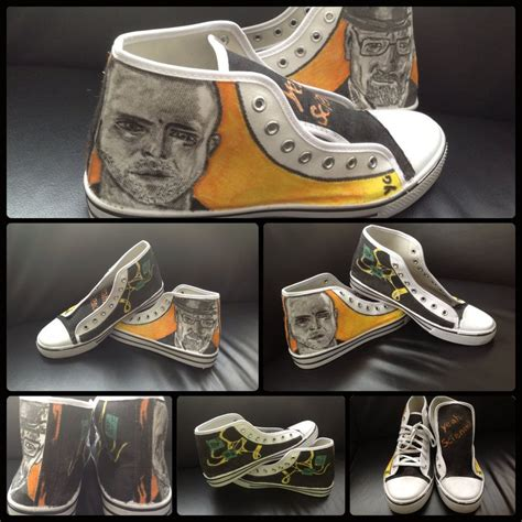shoes bad custom shoes breaking bad by realtimeartist on deviantart