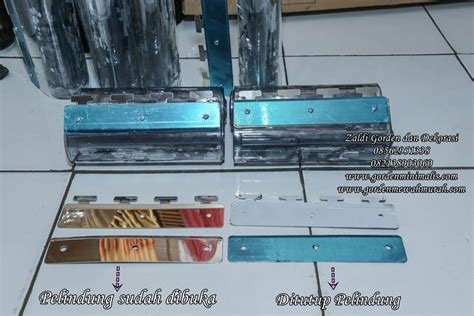 Tirai Plastik Cold Storage tirai plastik gorden plastik standar akreditasi rumah